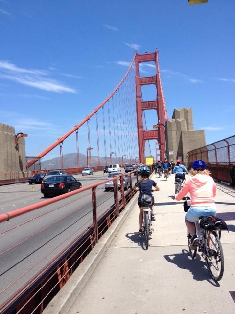 Biking Across The Golden Gate Bridge Active Travels