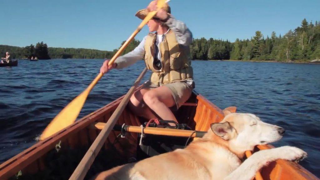 Paddling Maine