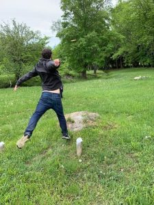 Frisbee Golf at Trapp Family Lodge