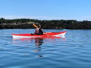 Sea Kayak Deer Island